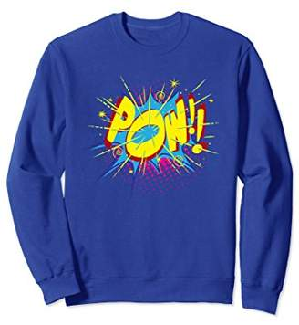 POW!! Comic Sound Effect Sweatshirt