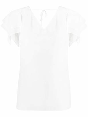 Roberto Cavalli layered sleeve blouse