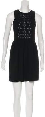 Tibi Sleeveless Mini Dress