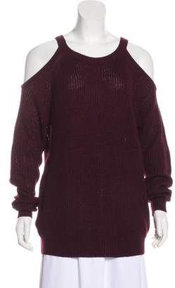 Sanctuary Cold Shoulder Knit Sweater