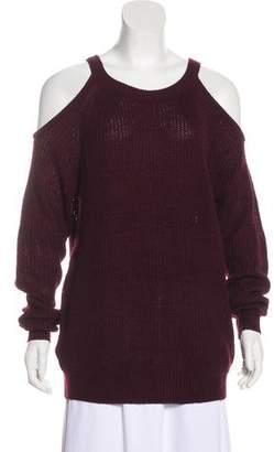 Sanctuary Cold Shoulder Knit Sweater