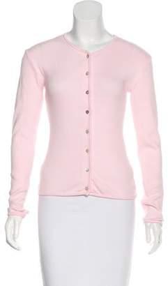 Inés Figaredo Long Sleeve Button-Up Cardigan