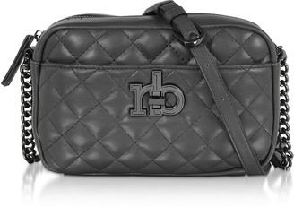 Roccobarocco Rb Releve Quilted Eco Leather Camera Bag