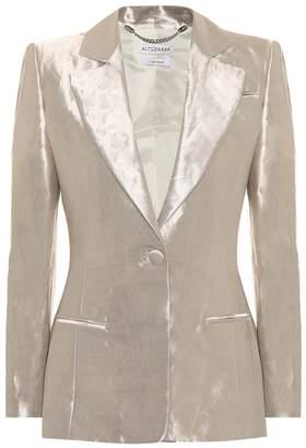Altuzarra Anniversary collection Acacia lame blazer
