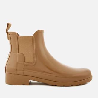 Hunter Women's Original Refined Gloss Chelsea Boots