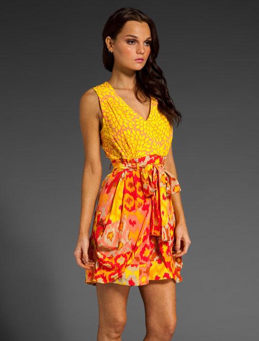 Nanette Lepore Lady Gambler Dress