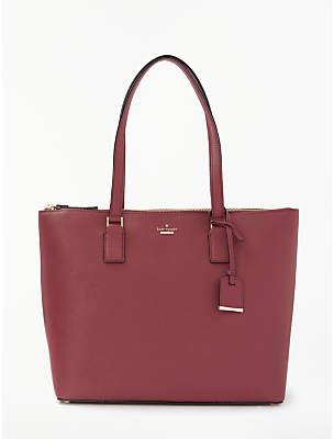 Kate Spade Cameron Street Lucie Leather Shoulder Bag, Sienna