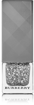 Burberry Beauty - Nail Polish - Silver Glitter No.453 $22 thestylecure.com