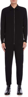 Imperial Star Black Zip Pocket Jumpsuit