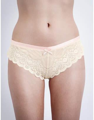 Heidi Klum Intimates Madeline lace thong brief