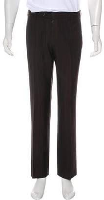 Prada Striped Wool Pants