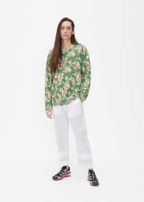 Craig Green Vibrating Floral Line Stitch Sweatshirt