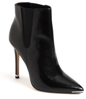 Michael Kors Andie Leather Ankle Boots