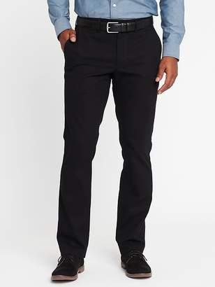 Old Navy Straight Signature Built-In Flex Non-Iron Pants for Men