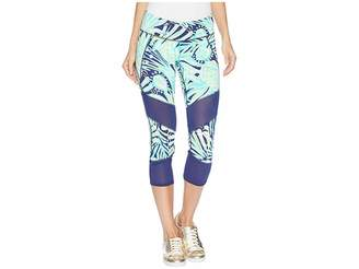 Lilly Pulitzer Luxletic Theah Weekender Crop Leggings