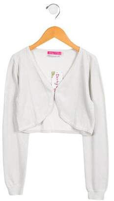 Derhy Kids Girls' Metallic Cardigan w/ Tags