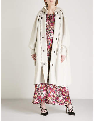Y/Project Double layered linen coat