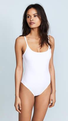 Karla Colletto Round Neck Swimsuit