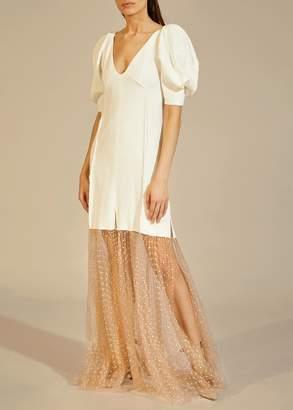 KHAITE The Dorothy Dress in White