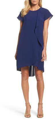 Women's Adrianna Papell Crepe Shift Dress $140 thestylecure.com