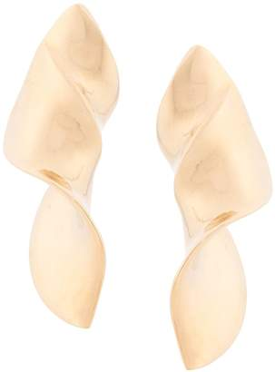 Annelise Michelson extra large twist earrings