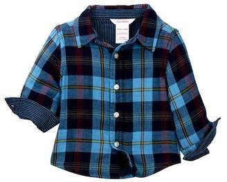 Joe Fresh Double Gauze Shirt (Baby Boys)
