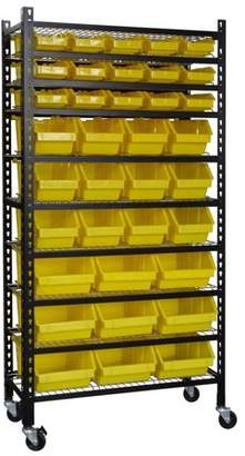 Muscle Rack Mobile Bin Shelving Rack