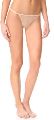 Calvin Klein Underwear Sheer Marq String Thong $22 thestylecure.com