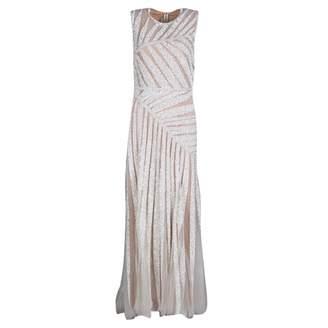 Elie Saab White Silk Dresses