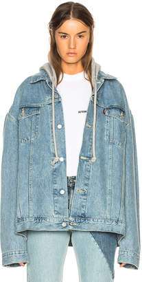 Vetements x Levis Oversized Denim Jacket