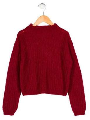 Ermanno Scervino Girls' Mohair-Blend Sweater w/ Tags