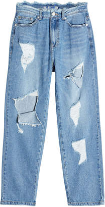 Sjyp Distressed Jeans