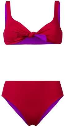 Fisico reversible two-piece bikini set
