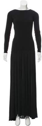 Michael Kors Long Sleeve Maxi Dress