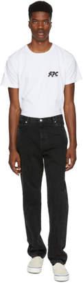 A.P.C. Black Baggy Jeans