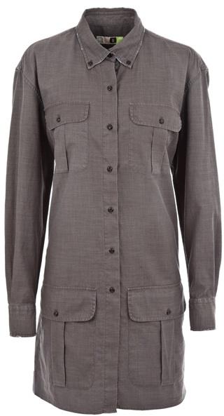 Msgm Cargo pocket shirt dress