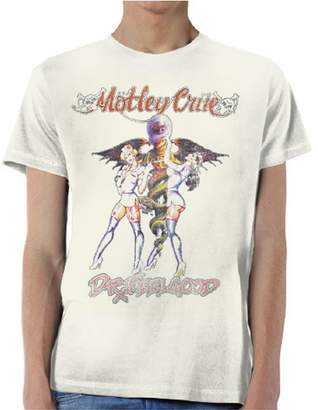Vince Tee Shack Motley Crue Dr Feelgood Neil Tommy Lee Official Tee T-Shirt Mens Unisex