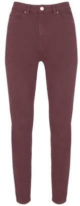Mint Velvet Joliet Burgundy Skinny Jean