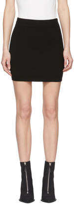 alexanderwang.t Black Bodycon Basics Pencil Miniskirt