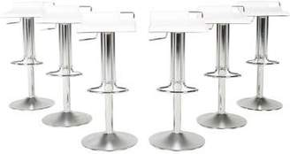 Bonaldo Set of 6 Hoppy Modern Bar Stools