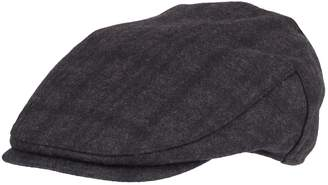 Dockers Men's Plaid Flat-Top Wool-Blend Ivy Cap