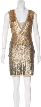 Tory Burch Embellished Mini Dress