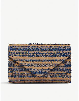 LK Bennett Lorna envelope clutch bag