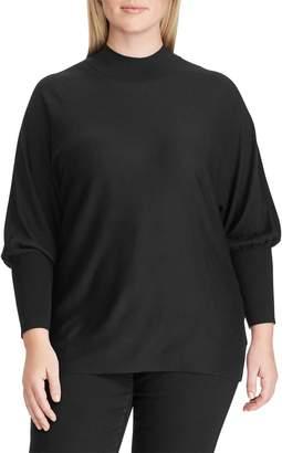 Lauren Ralph Lauren Plus Dolman-Sleeve Modal Sweater