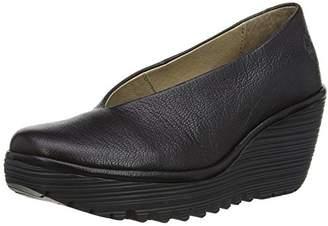 Fly London Yaz Mousse, Women's Court Shoes, Black