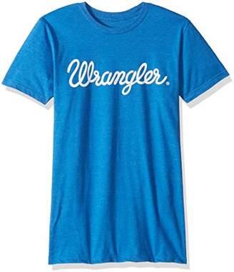 Wrangler Men's Logo Short Sleeve Tee Shirt