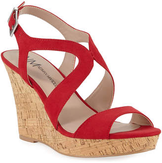 2bc5028e502 Red Cork Wedge Women s Sandals - ShopStyle