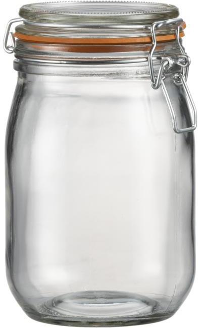 Storage Jar with Clamp