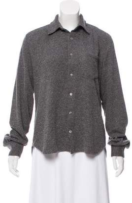Timo Weiland Knit Button-Up Top