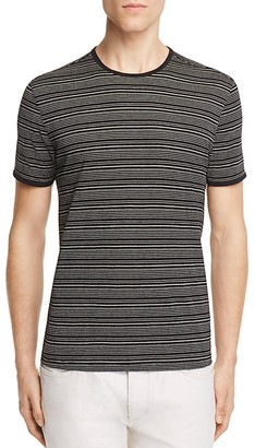 John Varvatos Collection Engineered Striped Tee $148 thestylecure.com